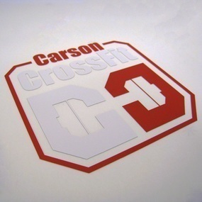 Carson Crossfit Custom Multi-Color Cut-Out Stickers