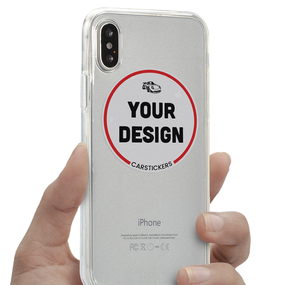 Inside Application Clear Phone Case