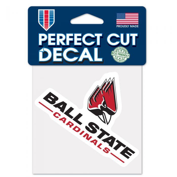 Ball State Cardinals NCAA Logo Sticker