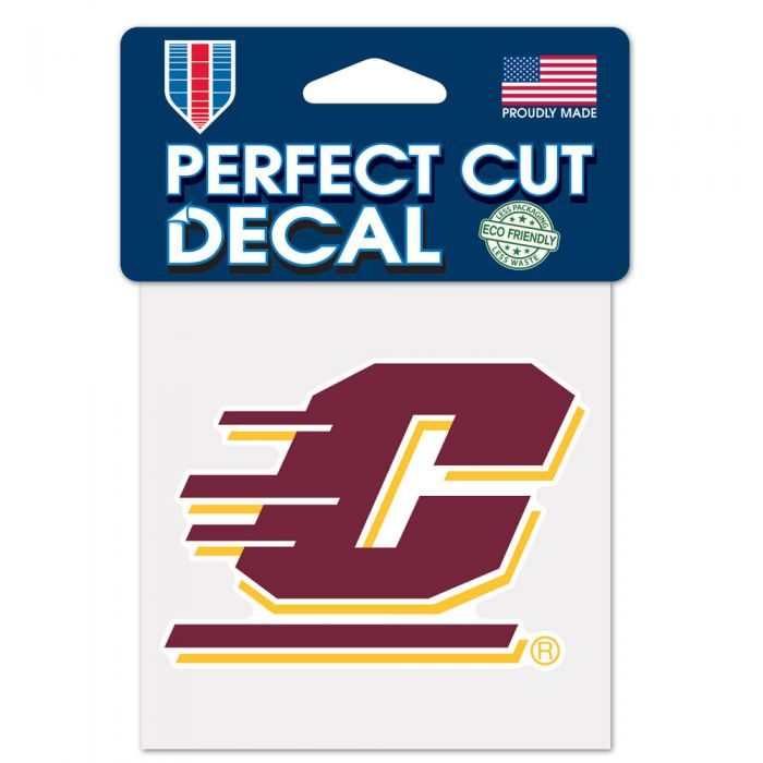 Central Michigan Chippewas NCAA Logo Sticker
