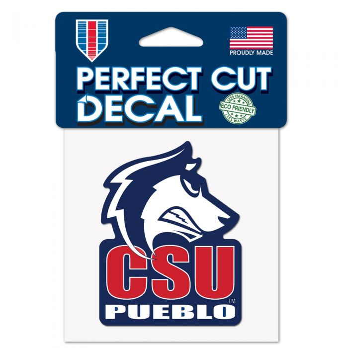 Colorado State University ThunderWolves NCAA Logo Sticker