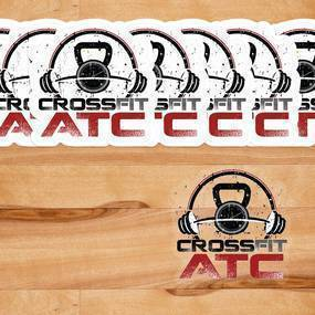 Crossfit ATC Clear Stickers