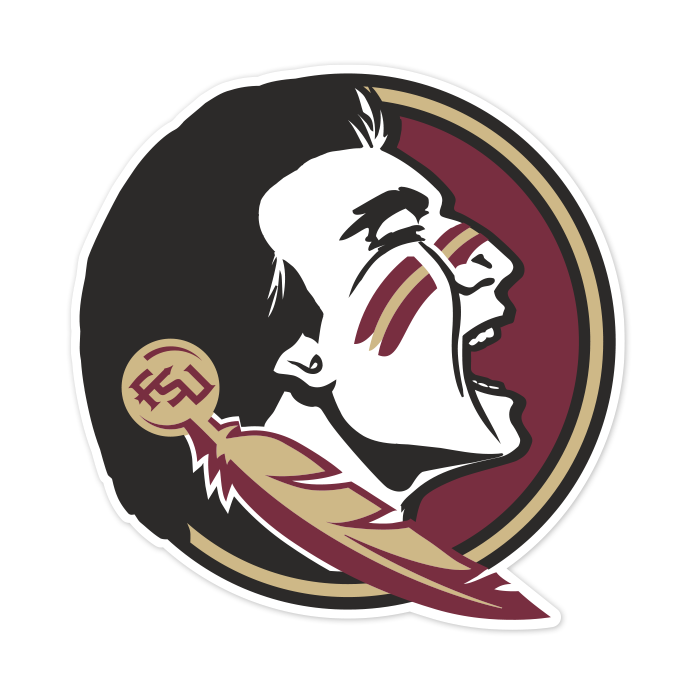 Florida State Seminoles NCAA Logo Sticker