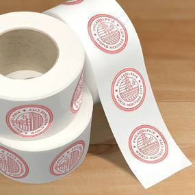 Philadelphia Circle Sticker Rolls