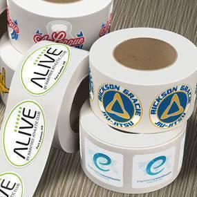 Custom Sticker Roll Collection