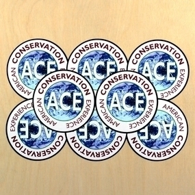 American Conservation Experience Custom Circle Stickers