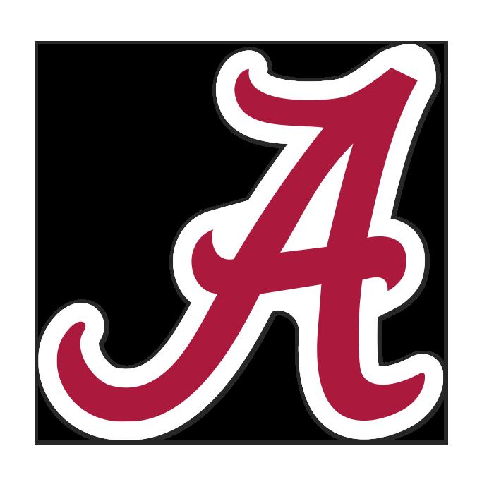 Alabama Crimson Tide NCAA Logo Sticker