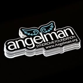 Angelman Die Cut Sticker