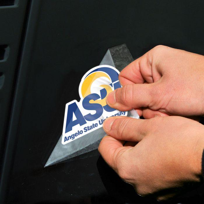 Angelo State Rams NCAA Logo Sticker