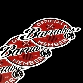 Barnabas Clothing Custom Die Cut Stickers