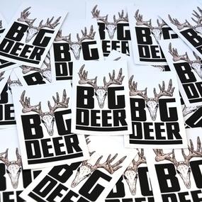 Big Deer Custom Rectangle Stickers