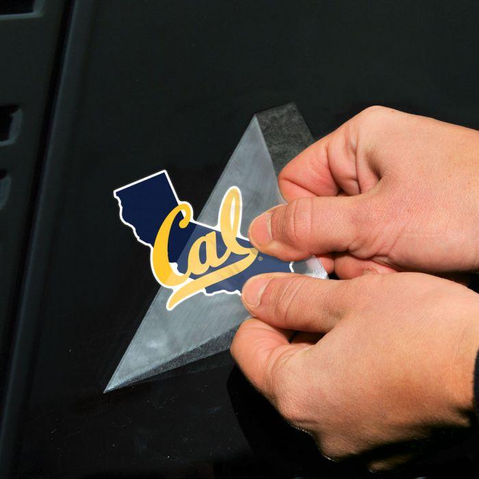 California Golden Bears State Shape NCAA Sticker