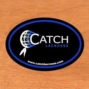 Catch Lacrosse Custom Oval Stickers