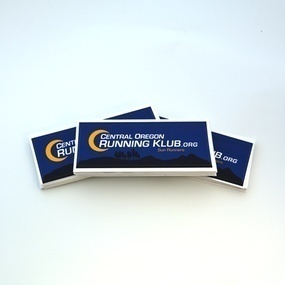 Central Oregon Running Klub Custom Rectangle Stickers