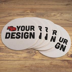 Paper Circle Coaster 2