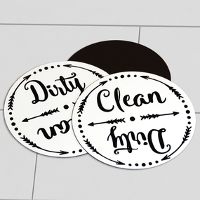 Dishwasher Custom Circle Magnets