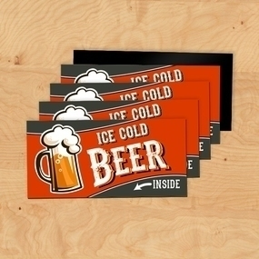 Cold Beer Custom Rectangle Magnet