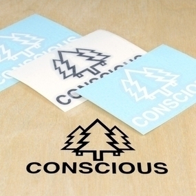 Conscious Creations Custom Cut Out Stickers