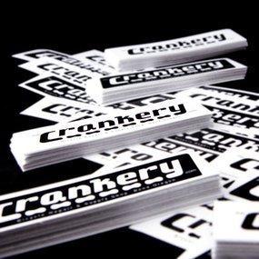 The Crankery Custom Rectangle Stickers