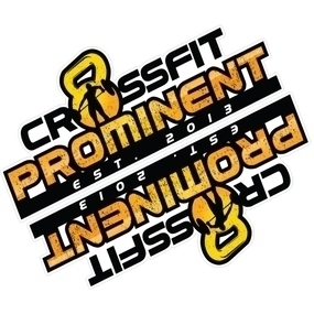 CrossFit Prominent Custom Die Cut Stickers
