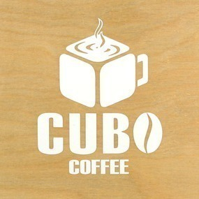 Cubo Coffee Custom Cut Out Stickers