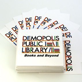 Demopolis Public Library Custom Rectangle Stickers