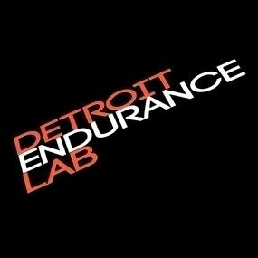 Detroit Endurance Lab Custom Cut Out Sticker
