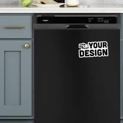 Die Cut Magnet Dishwasher