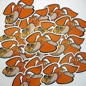 Dunlop Custom Die Cut Stickers