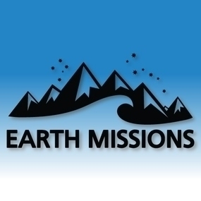 Earth Missions Custom Cut Out Stickers