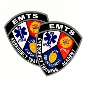 EMTS Custom Die Cut Stickers