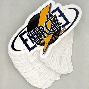 Energize Custom Die Cut Stickers