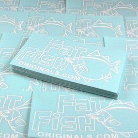 Fat Fish Originals Custom Cut Out Stickers