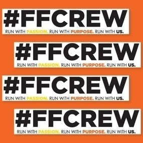 Fellow Flowers Crew Custom Rectangle Stickers