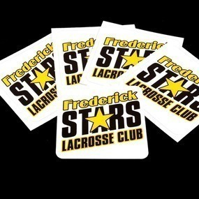 Frederick Stars Lacrosse Club Custom Rectangle Stickers