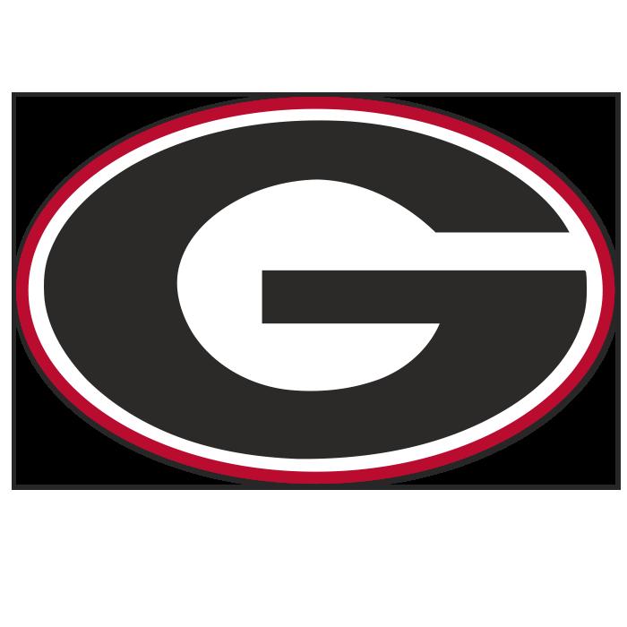 Georgia Bulldogs NCAA Logo Sticker
