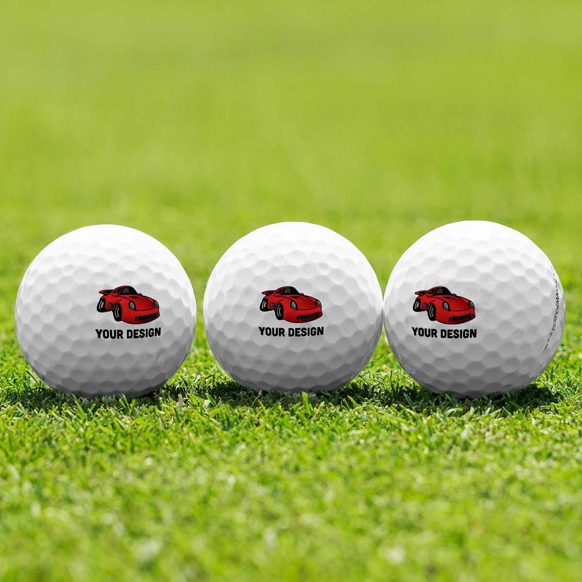3 Golf Balls