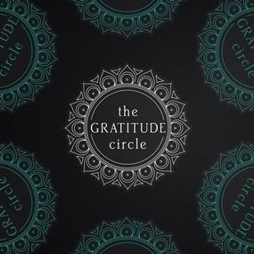 The Gratitude Circle Custom Die Cut Stickers