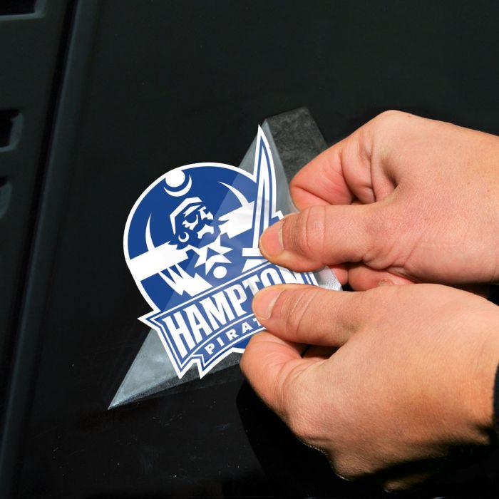 Hampton Pirates NCAA Logo Sticker
