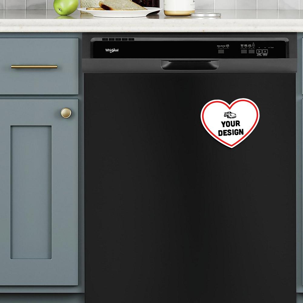 Heart Magnet Dishwasher