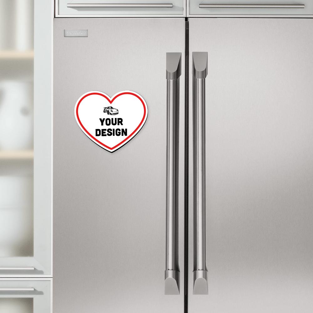 Heart Magnet Refrigerator