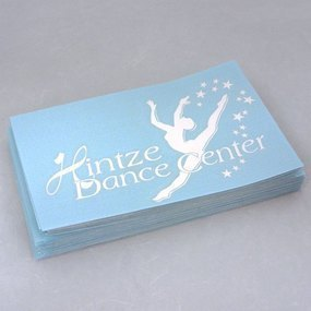 Hintze Dance Center Custom Cut-Out Sticker