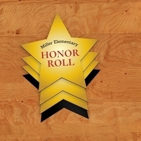 Honor Roll Custom Star Magnets