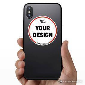 Circle Sticker Phone