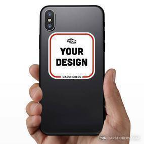Rounded Corner Sticker Phone