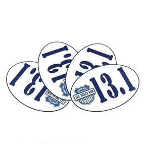 Jail Break Run Custom Oval Stickers
