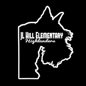 JL Hill Elementary Highlanders Custom Die Cut Stickers