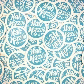 Kali Kazoo Custom Circle Stickers