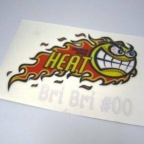 Lancaster Heat Custom Multi-Color Cut-Out Stickers