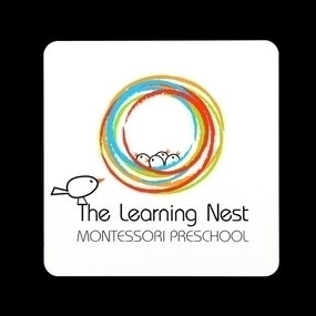 The Learning Nest Custom Rounded Rectangle Stickers